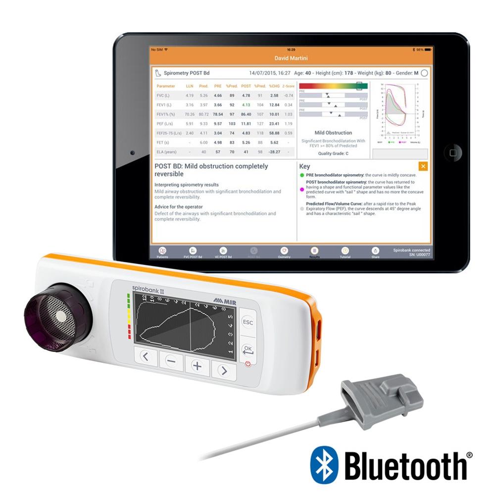 Spirobank II Smart BLE Spirometer