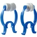Large Foam and Rubber Nose Clips for PFT, Spirometry