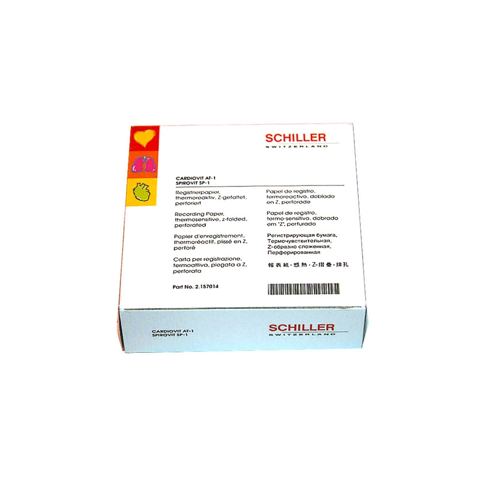 Thermal Recording Paper for Schiller Spirovit SP-1 and Cardiovit AT-1.