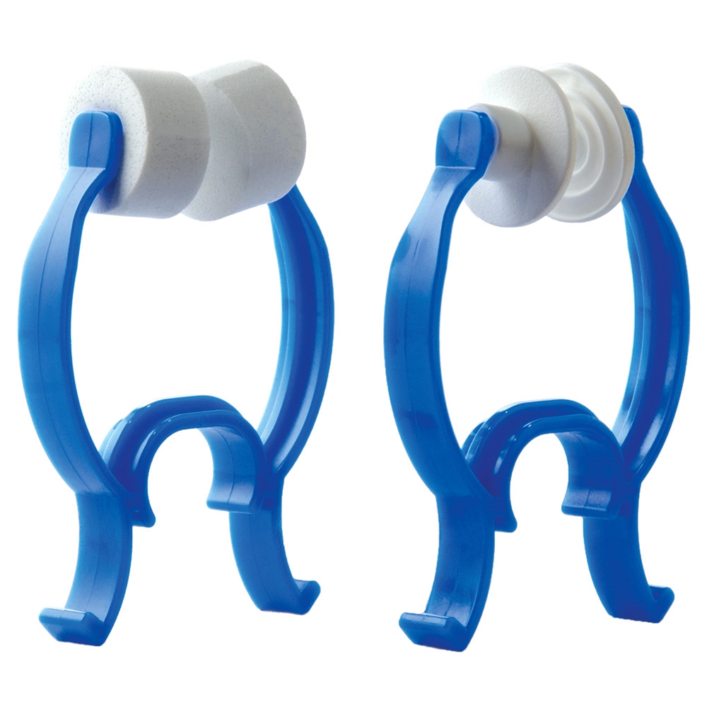Large Foam and Rubber Nose Clips for PFT, Spirometry.